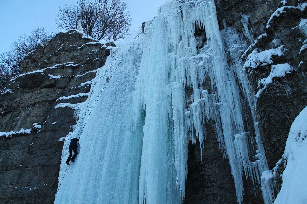 Кам'янець-Подільський, льодолазання